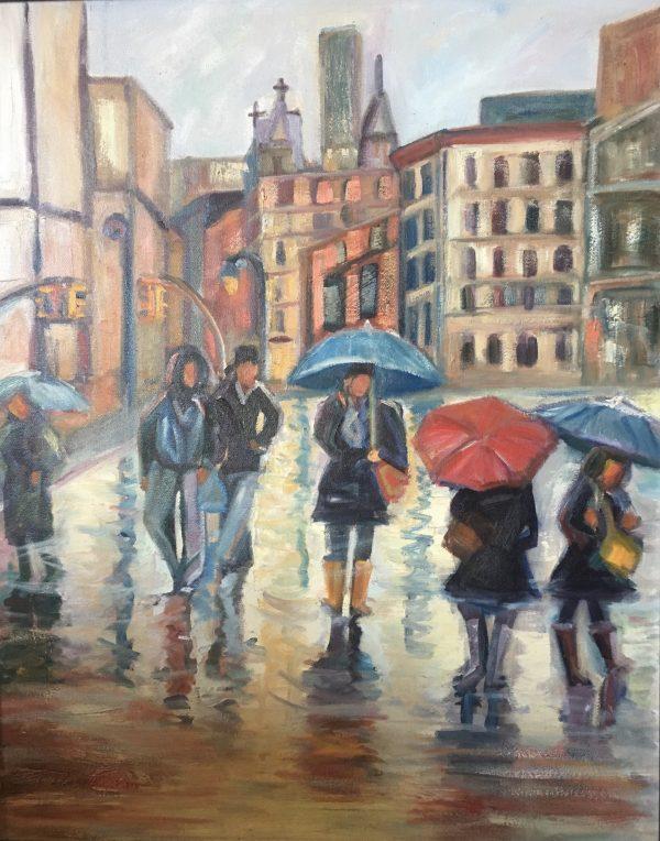 Manhattan Rain #2